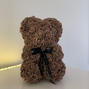 25 Centimeter Brown RoseBear